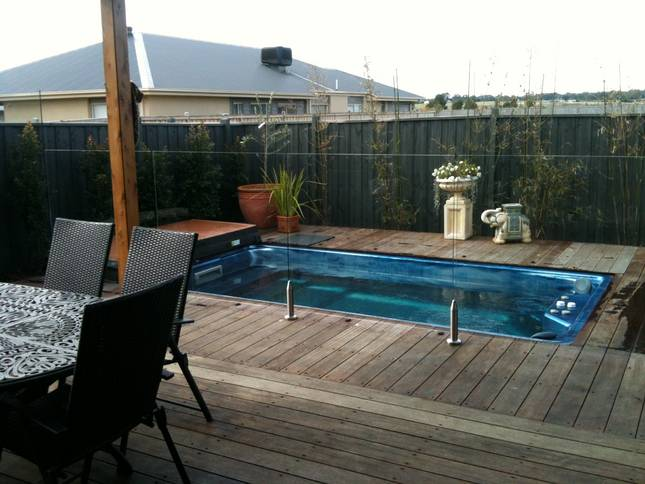 What Is The Smallest Inground Pool Size Backyard Cool