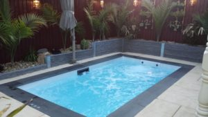 Jazz 700 Plunge Pool Spa In Ground