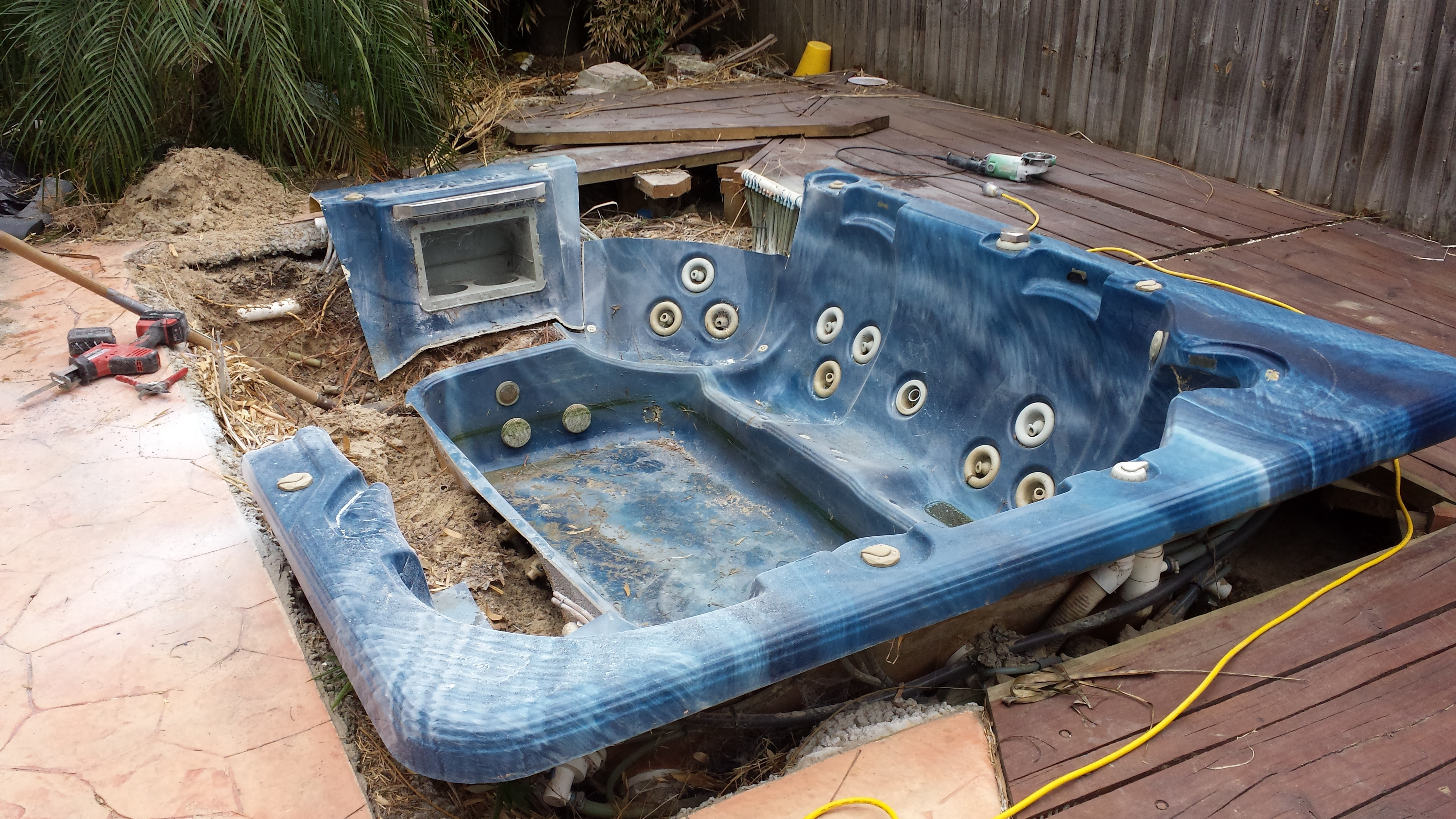 In Ground Hot Tub Installation   Migrant Resource Network
